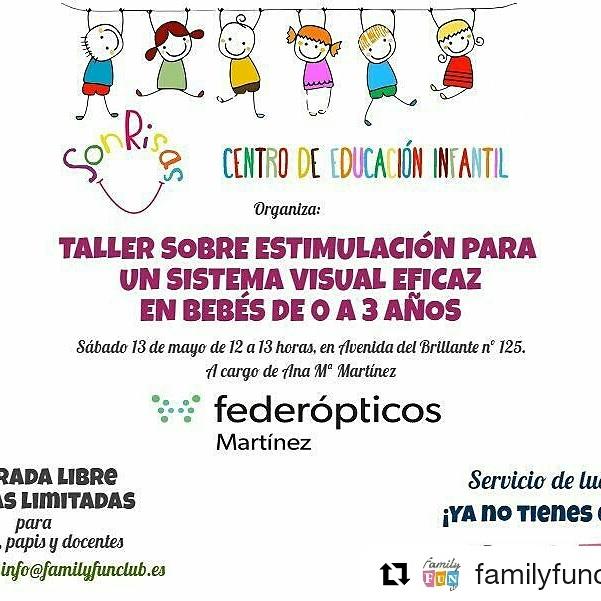Escuela de Familia: estimulación del sistema visual en niñ@s de 0 a 3 años