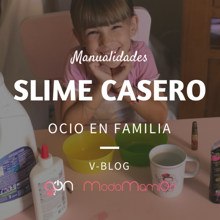 Diversión en familia preparando SLIME casero