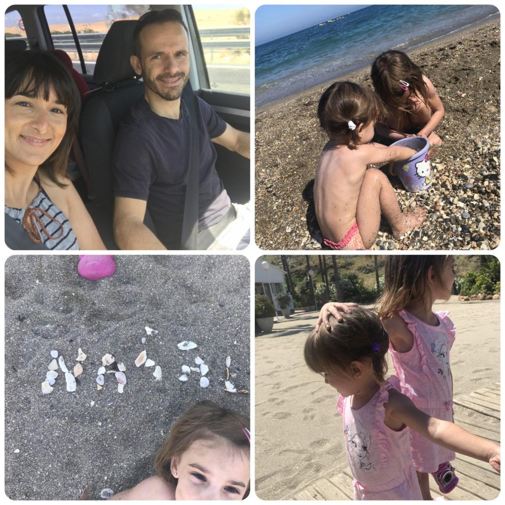vacaciones benalmadena playa en familia sol juegos espetos